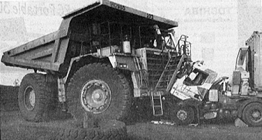 Dumper : 1 - Camion : 0