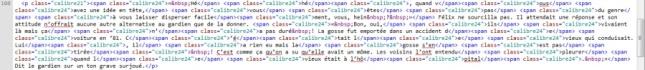 Ex. : code original