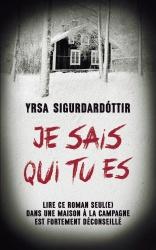 Y. Sigurdardottir - Je Sais Qui Tu Es