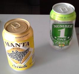 Bière citron NC