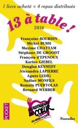 13 à Table - 2016